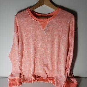 Splendid Size XS Super Soft Neon Coral Top